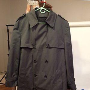 London Fog men's 44 long trench coat